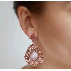 Boucles d'oreilles Drop Stone