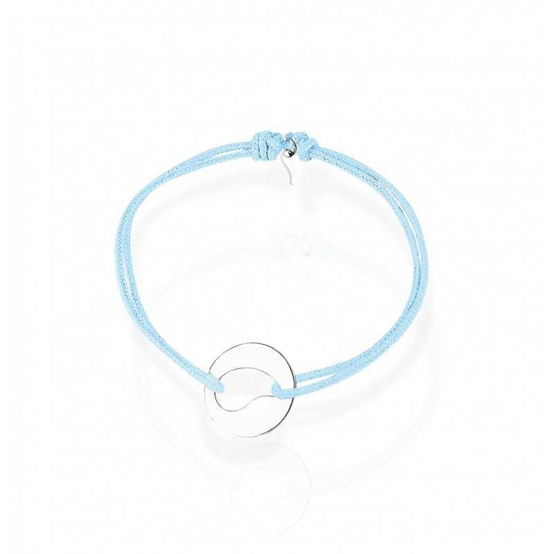 bracelet medal drop woman