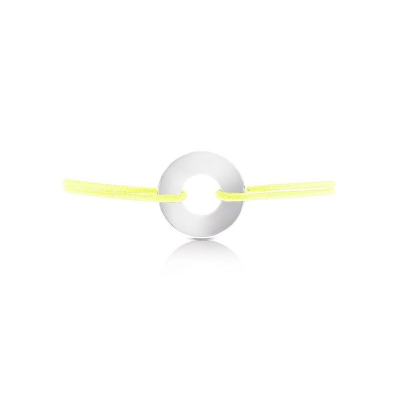 Bracelet cible corde personnalisé femme