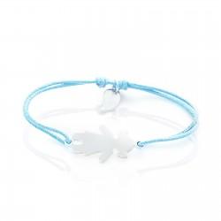 Bracelet personnage fille personnalisé enfant