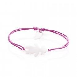 Bracelet character girl personalised child