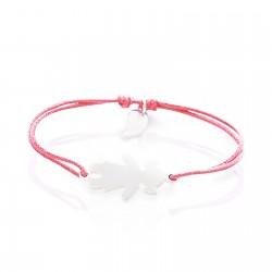 Bracelet character girl personalised child