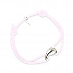 Silver bracelet water drop