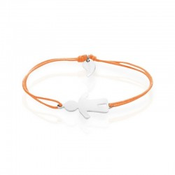 Bracelet personnage garçon personnalisé femme