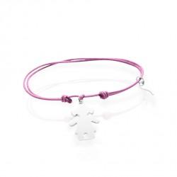 Boucles d'oreilles fleur de rose 925