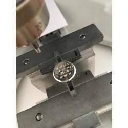 Mannen aangepaste zilveren medaille armband