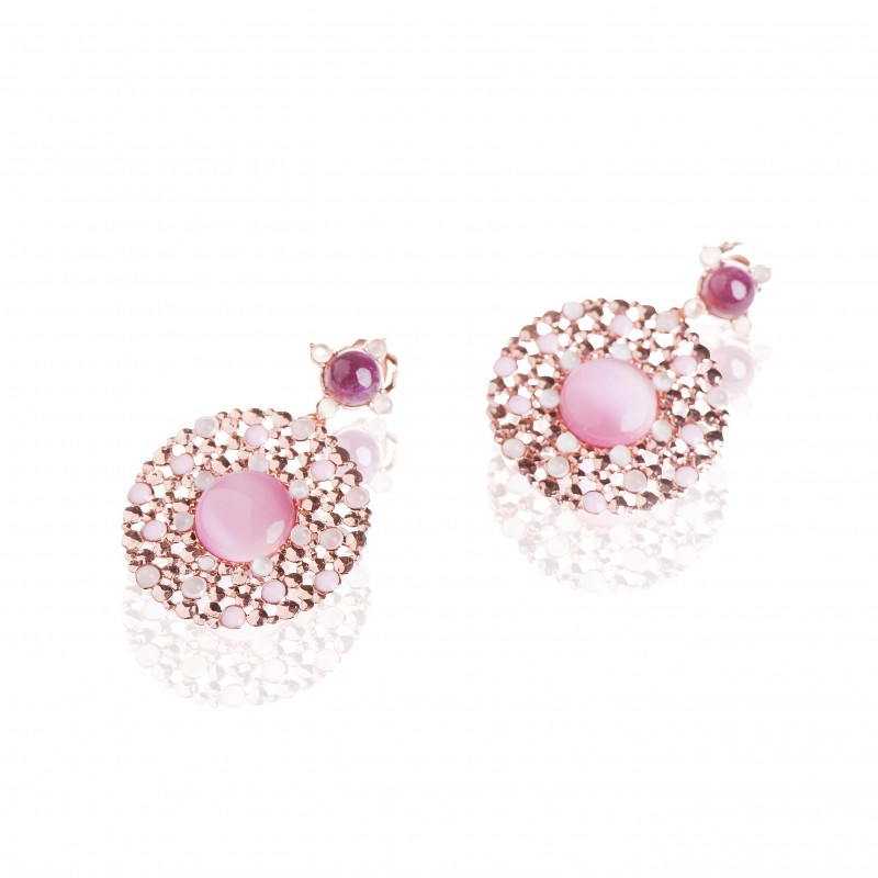 Round Elegance Earrings