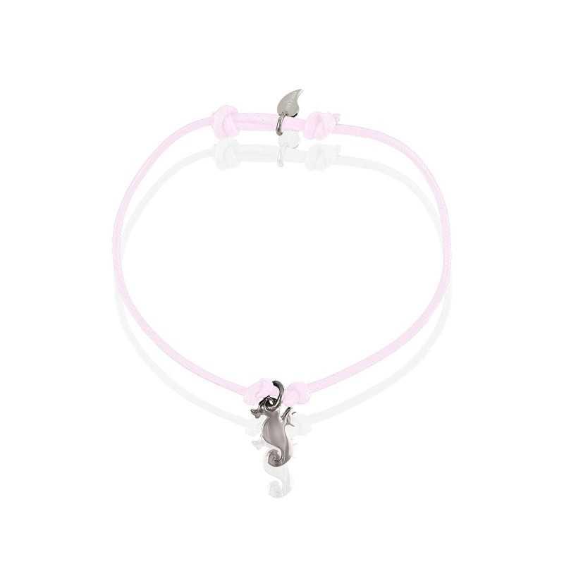Bracelet hippocampe argent enfant