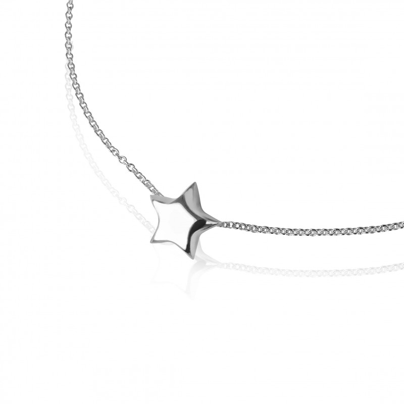 Little star necklace in silver