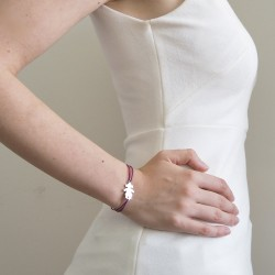 Bracelet personnage fille personnalisé femme