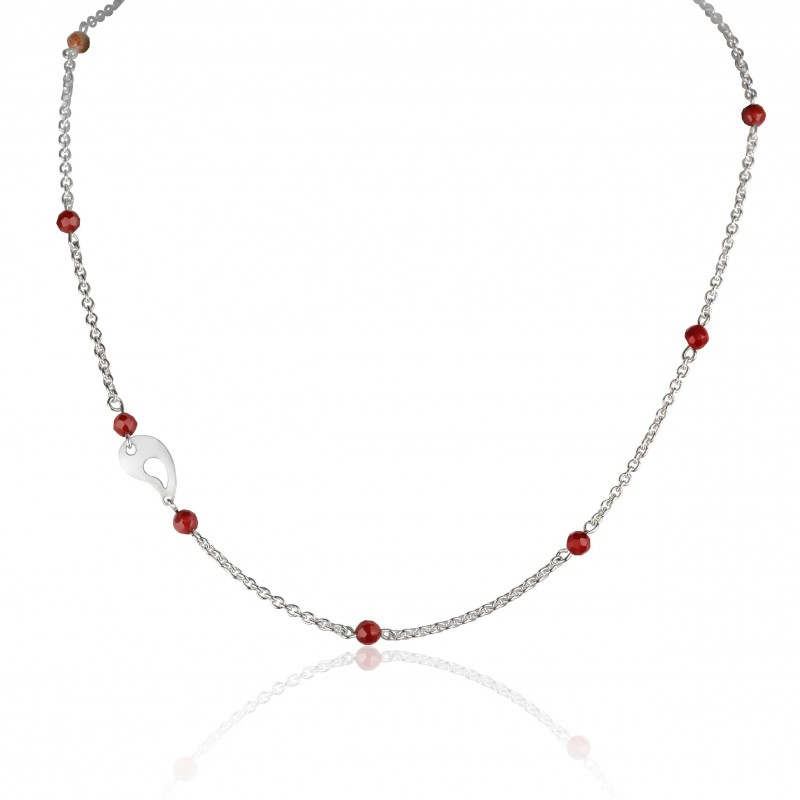 Collier Corail Rouge