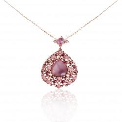 Drop Stone Necklace