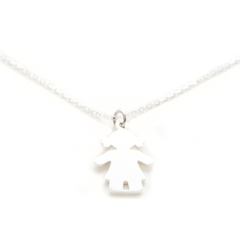 Collier argent bambin