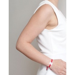 Bracelet heart medal woman
