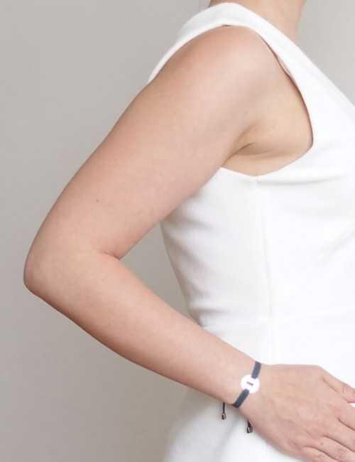 Bracelet girl médaille Femme