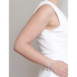 Bracelet médaille love femme