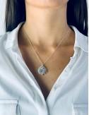 Boucles d'oreilles étoile de mer - argent massif