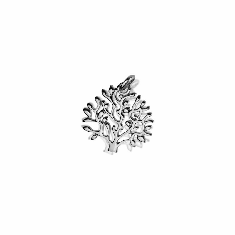 Tree of life pendant silver woman