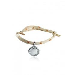 Bracelet Liberty médaillon bohème personnalisé femme