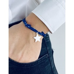 Liberty bracelet star silver personalized woman