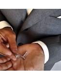 Rectangular cufflinks