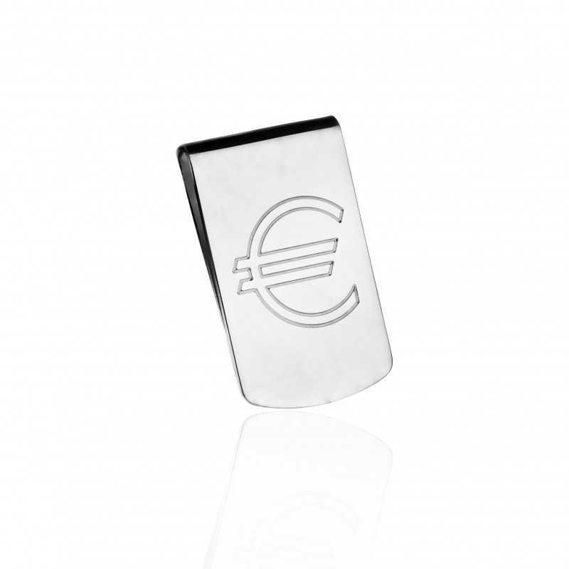 Euro money clip man