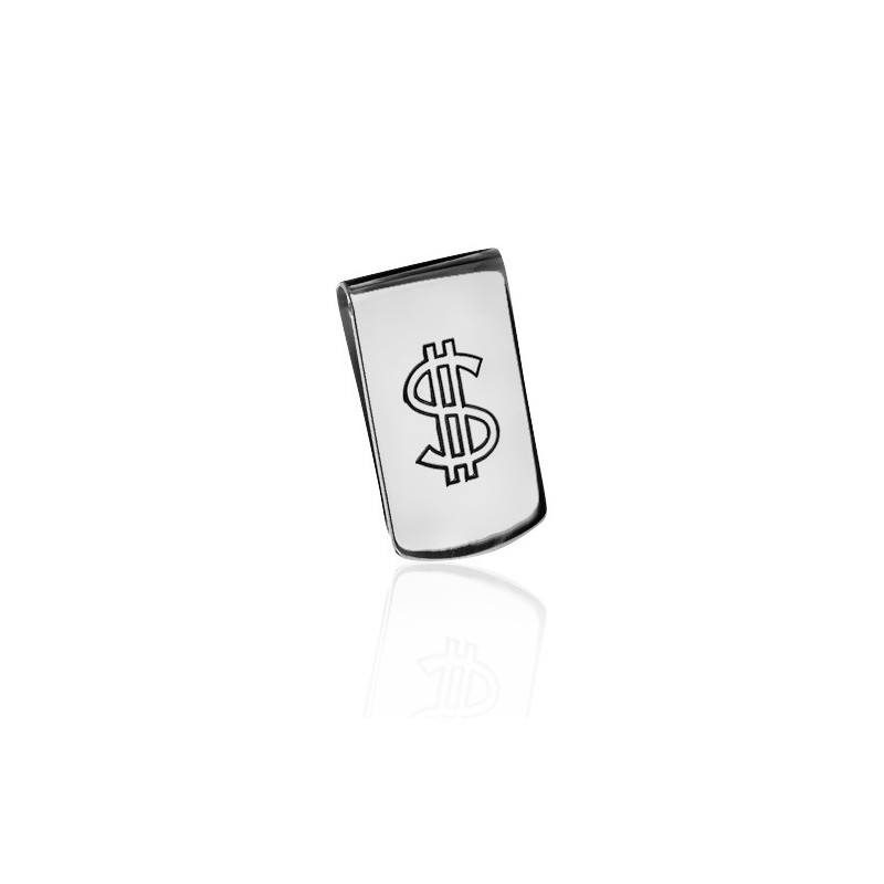 Dollar money clip man