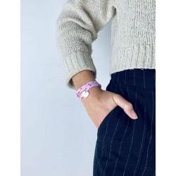 Liberty bracelet 3 turns heart silver heart personalized woman