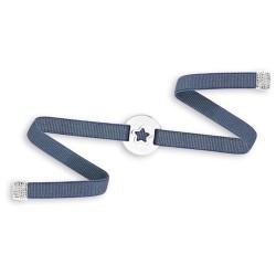 Bracelet médaille étoile femme