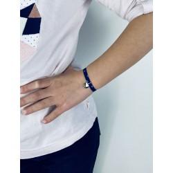 Bracelet Liberty médaille personnalisée 10 mm enfant