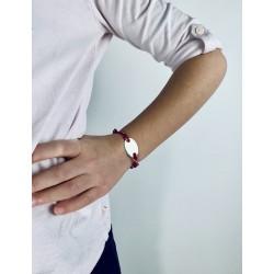 Bracelet Liberty médaille ovale à graver enfant