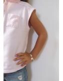 Bracelet avion argent personnalisé enfant