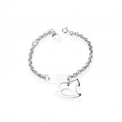 Horse bracelet in silver