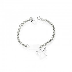 Bracelet angel silver personalized child