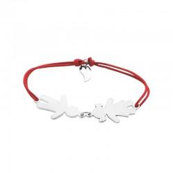 Gepersonaliseerde armband van de vrouwentouwfamilie