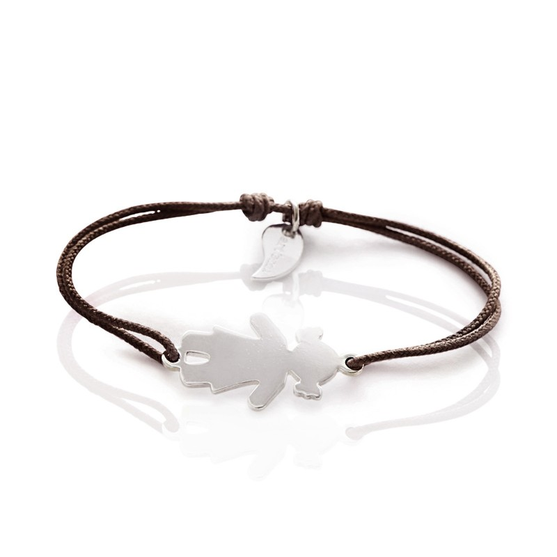 Girl character bracelet personalized woman
