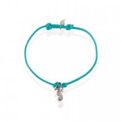 Bracelet hippocampe argent femme