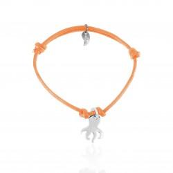 Silver octopus bracelet woman