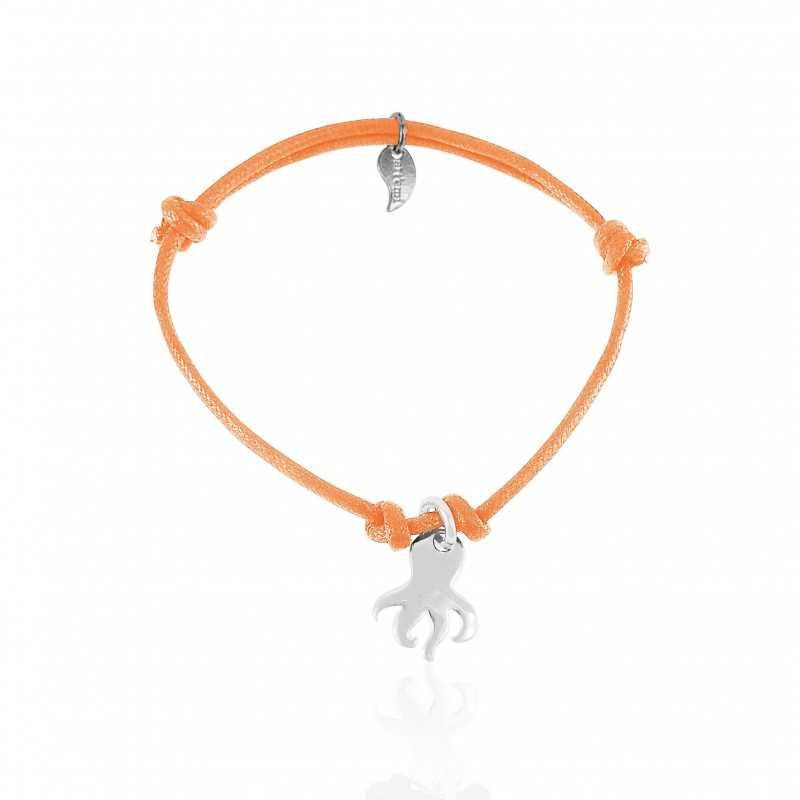 Bracelet pieuvre argent femme
