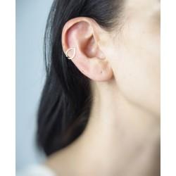 Water drop cartilage earring