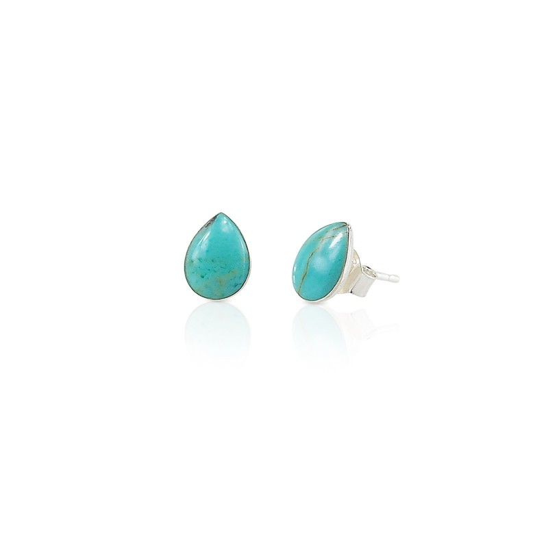 Turquoise water drop earrings