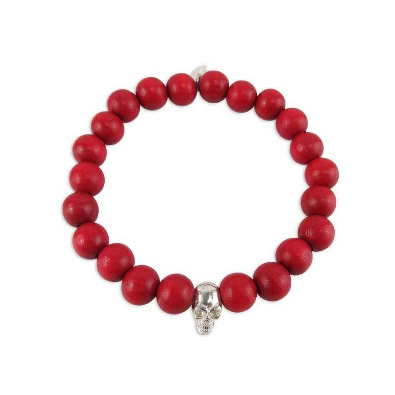Skull head bracelet man
