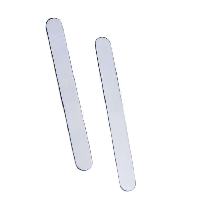 Rounded collar stays