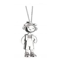 Long necklace little boy