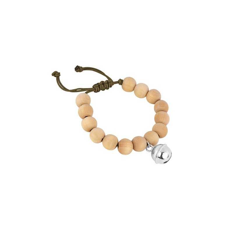 Bracelet perles bois homme