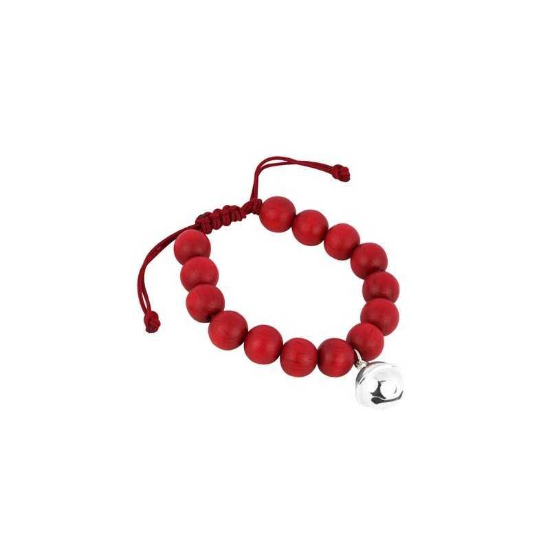 Wooden beads bracelet man