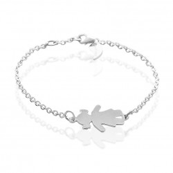 Little girl chain bracelet