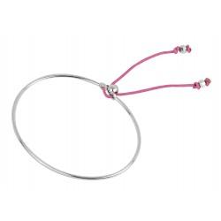Bracelet esclave argent femme