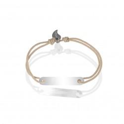Bracelet gourmette personnalisable