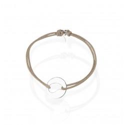 Bracelet reglable medaille goutte artemi bijoux
